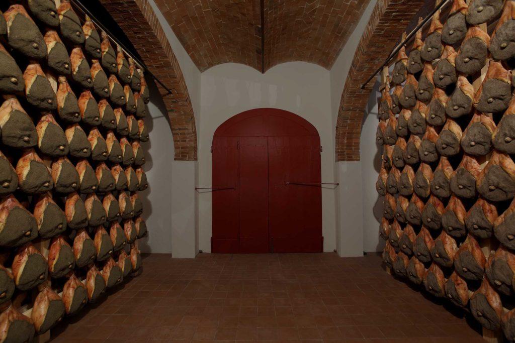 Cave d'affinage de jambons de Radda in Chianti