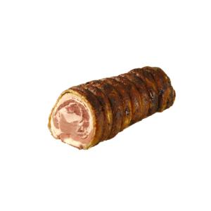 Porchetta traditionnelle italienne rôtie